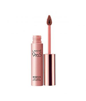 Lakme 9 to 5 Weightless Mousse Lip & Check Color - Coffee Lite