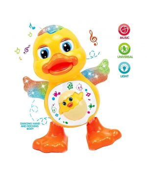 Musical Dancing Duck Toy - Yellow