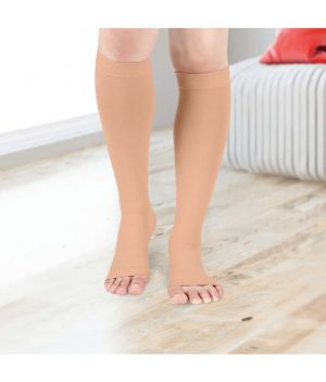 Open-Toe-Compression-Stockings---Knee-Length