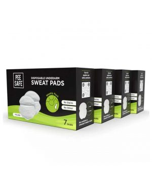 PEE SAFE - SWEAT PADS FOLDED - PACK OF 4
