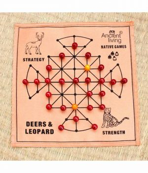 Deer's-and-Leopard's-Board-Game-in-Raw-Silk