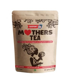 Kayos Mothers Tea For Breastfeeding Mothers With Fenugreek
