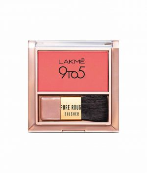 Lakme 9to5 Pure Rouge Blusher - Coral Punch