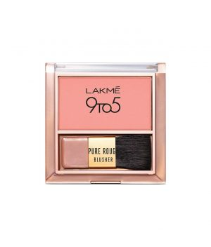 Lakme 9to5 Pure Rouge Blusher - Nude Flush
