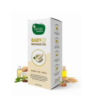 Mother Sparsh Natural Baby Massage Oil - 100 ml