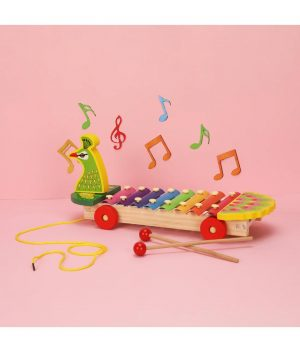 Wooden-Peacock-Musical-Xylophone-(Design-May-Vary)